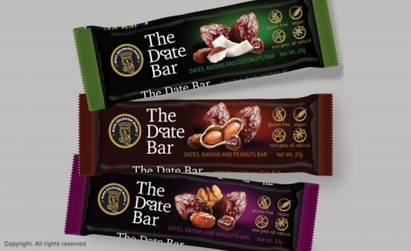 Date and Nut Bars‬‏